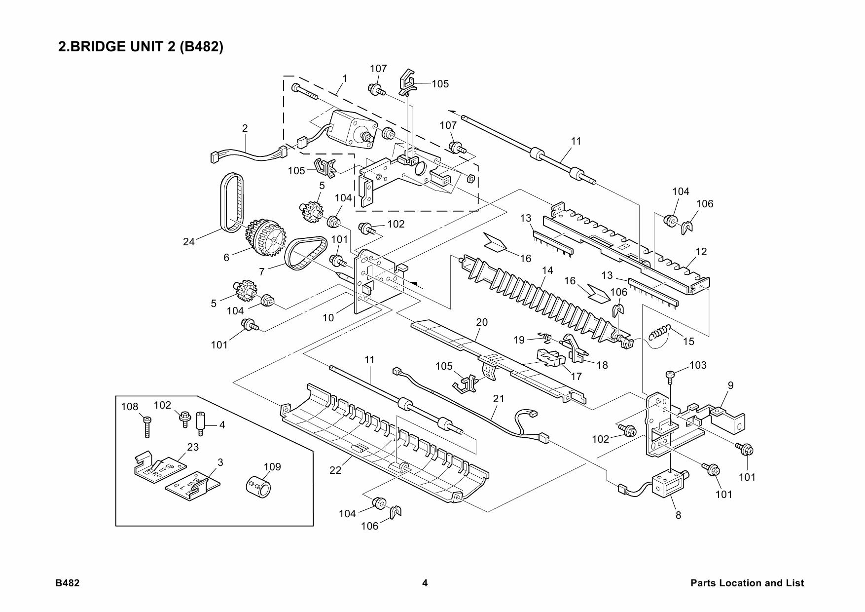 ricoh options b482 bridge